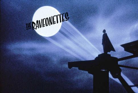Ilustrando un post sobre un tema de The Raveonettes en el videojuego Batman Arkham City.